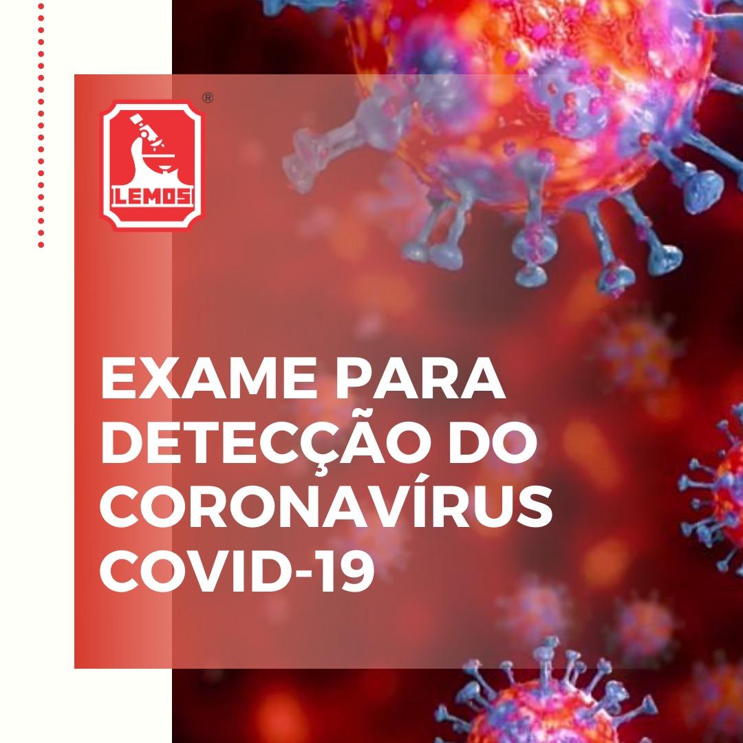 Coronavírus – Agende sua coleta